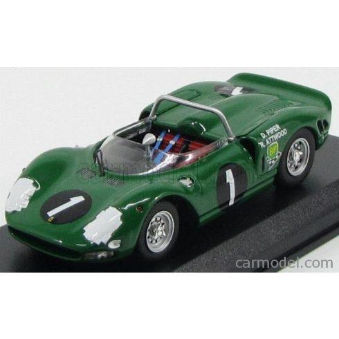 BEST MODEL FERRARI P2 SPIDER N 1 WINNER 9h KYALAMI 1965 PIPER - ATTWOOD
