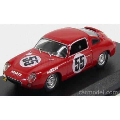 BEST MODEL FIAT ABARTH 700S COUPE TEAM ABARTH & CIE N 55 24h LE MANS 1961 P.CONDRILLIER - C.FOITEK