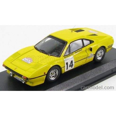 BEST MODEL FERRARI 308 GTB COUPE N 14 TOUR DE FRANCE 1985 WORSWICK - NEWMAN