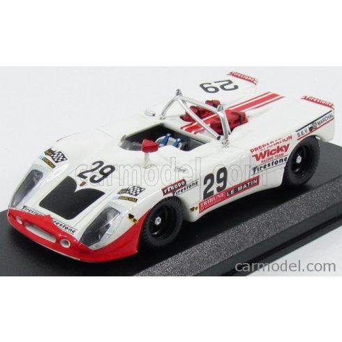 BEST MODEL PORSCHE 908/2 FLUNDER TEAM WICKY RACING N 29 24h LE MANS 1971 A.WICKY - M.C.OLIVAR