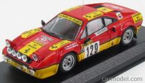 BEST MODEL FERRARI 308 GTB Gr.4 N 129 RALLY MONTECARLO 1983 GAUTHIER - GAUTHIER