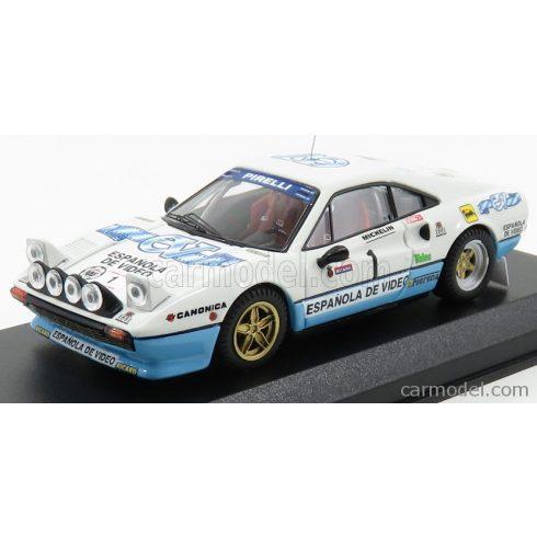BEST MODEL FERRARI 308 GTB N 1 WINNER RALLY CRITERIUM LUIS DE BAVIERA 1984 ZANINI - AUTET