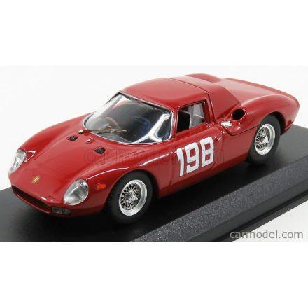 BEST MODEL FERRARI 250LM COUPE N 198 WINNER COPPA F.I.S.A. MONZA 1966 E.LUATI