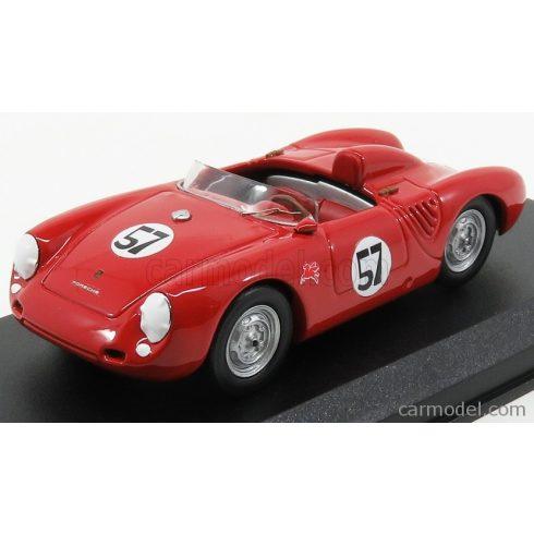 BEST MODEL PORSCHE 550 RS SPIDER N 57 WINNER PARAMAUNT RANCH 1957 J.McAFEE