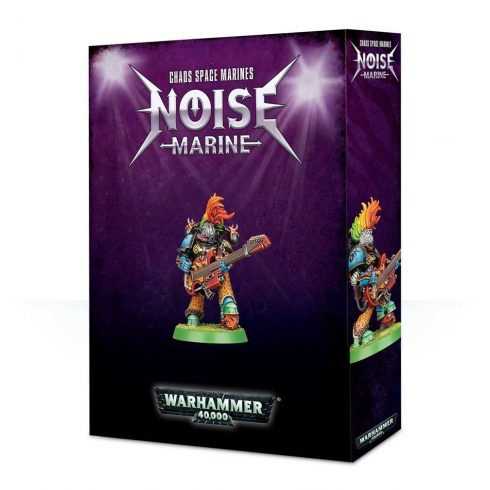 Games Workshop - CHAOS SPACE MARINES NOISE MARINE