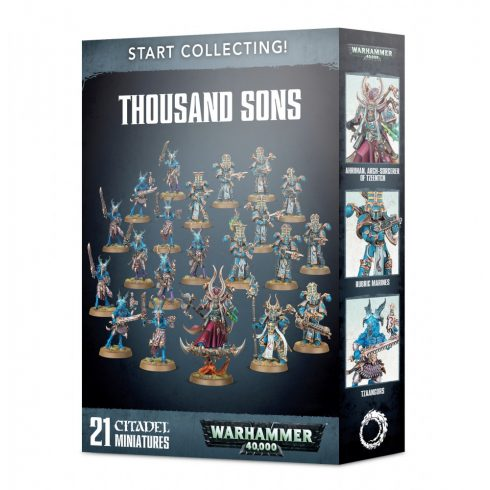 Games Workshop - Start Collecting! Thousand Sons