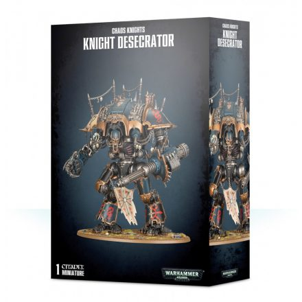 Games Workshop - Chaos Knights: Knight Desecrator / Rampager