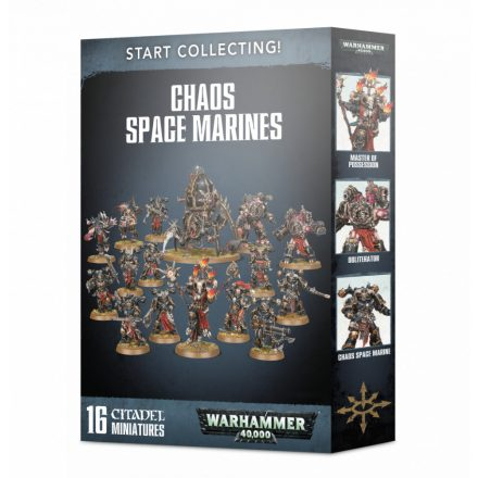 Games Workshop - Start Collecting! Chaos Space Marines