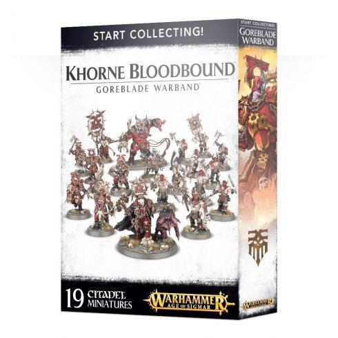 Games Workshop - Start Collecting! Khorne Bloodbound Goreblade Warband