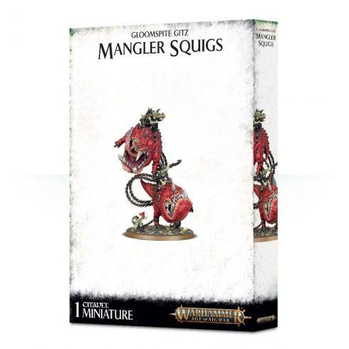 Games Workshop - Gloomspite Gitz Mangler Squigs / Loonboss on Mangler Squigs