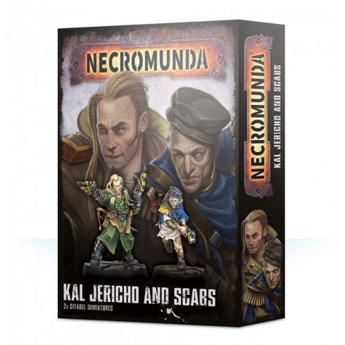 Games Workshop - Kal Jericho and Scabs