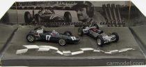 BRUMM PROM BRM F1 2X P57 N 17 WINNER HOLLAND GP G.HILL WORLD CHAMPION 1962 + TELAIO - CHASSIS