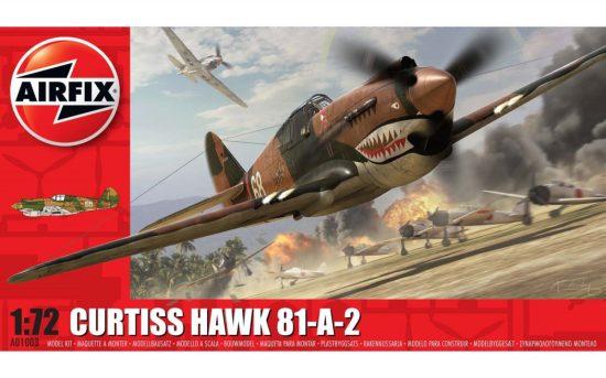 AirFix Curtiss Hawk 81-A-2 makett