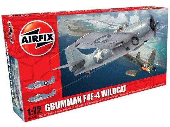 AirFix Grumman F4F-4 Wildcat makett