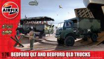 AirFix Bedford QLT and Bedford QLD Trucks makett