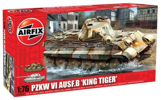 AirFix King Tiger makett