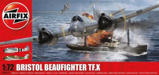 AirFix Bristol Beaufighter Mk.X makett