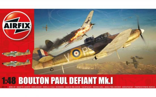 Airfix Boulton Paul Defiant Mk.I makett