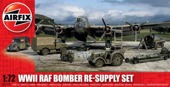 Airfix Bomber Re-Supply Set makett