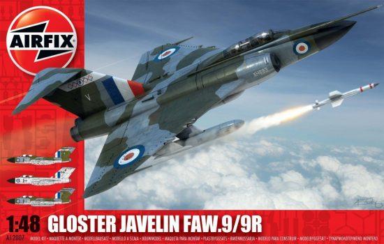 AirFix Gloster Javelin FAW.9/9R makett