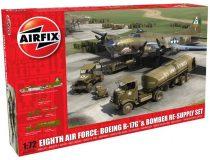 Airfix Eighth Air Force Boeing B-17G & bomber re-supply Set makett