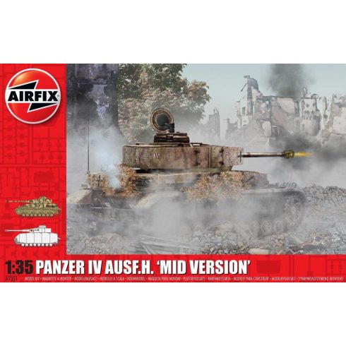 Airfix Pz.Kpfw.IV Ausf.H Mid Version makett
