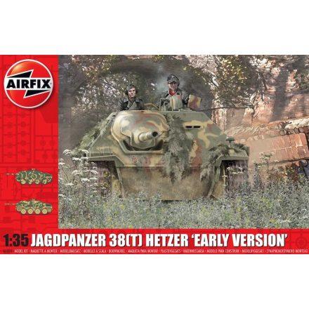 Airfix JagdPanzer 38(T) Hetzer, Early Version makett