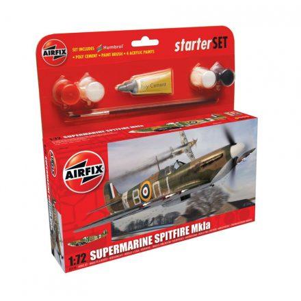 AirFix Supermarine Spitfire MkIa Starter Set makett