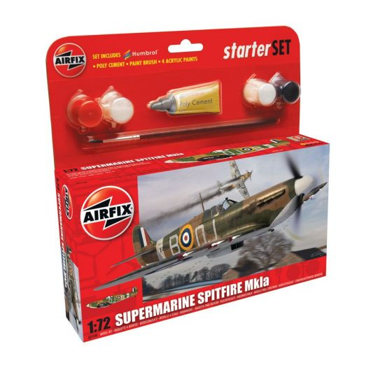 AirFix Supermarine Spitfire MkIa Starter Set