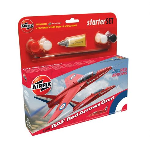 AirFix Red Arrow Gnat Starter Set makett