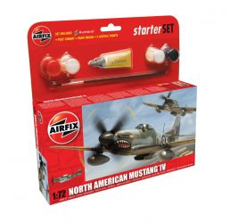 AirFix North American Mustang IV Starter Set