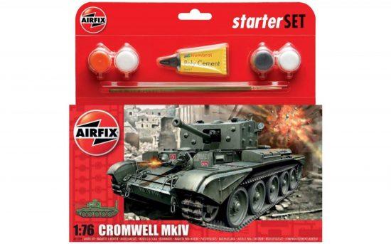 Airfix Cromwell Cruiser Tank Starter Set makett