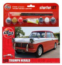 Airfix Triumph Herald makett