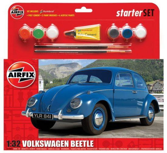 Airfix Volkswagen Beetle Starter Set makett