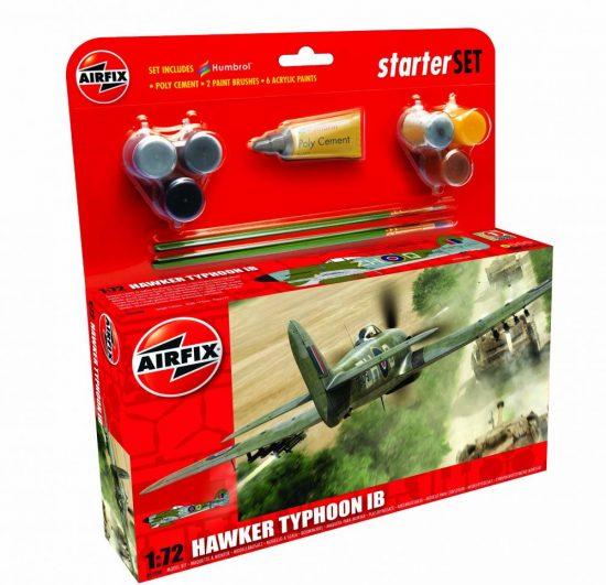 AirFix Hawker Typhoon Ib Starter Set makett