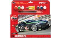 Airfix Jaguar XKR GT3 Starter Set makett
