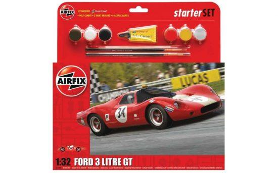 Airfix Ford 3 Litre GT Starter Set