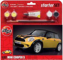 Airfix Mini Cooper S Starter Set makett