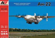 A&A Models Antonov An-22 Heavy Turboprop Transport Aircraft makett