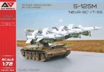 A&A Models SA-3 GOA (S-125 M Neva-SC) missile system on T-55 chassis makett