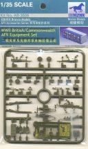 Bronco WWII British/Commonwealth AFV equipment set
