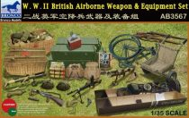Bronco WWII British Airborne Weapon & Equipment Set