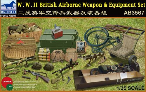 Bronco WWII British Airborne Weapon & Equipment Set