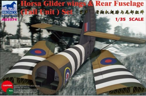 Bronco Airspeed A.S.51 Horsa Glider Mk.I Wings & Rear Fuselage