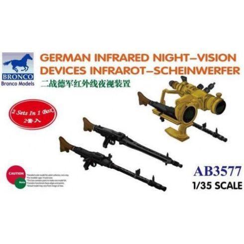 Bronco German Infrared Night-Vision Devices Infrarot-Scheinwefer