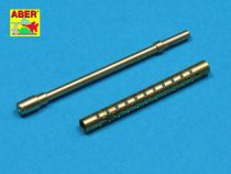Aber US .30 cal Barrels for Machine Guns Browning M-1919 A4 with Two part Muzzle - Set of Two Turned Barrels