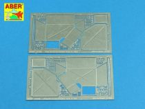 Aber Rear Boxes for Sd.Kfz.171 Panther Ausf.A (Academy, Tamiya)
