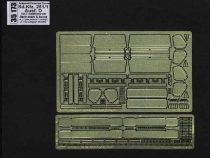 Aber German Sd.Kfz.251/1 Ausf.D Pt.7 Back seats and boxes (Dragon)