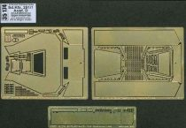 Aber German Sd.Kfz.251/1 Ausf.D Pt.8. Upper Armour plate (Dragon)