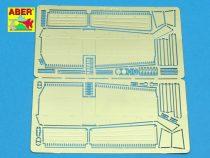 Aber M8 Greyhound armoured car Stowage boxes (Tamiya)